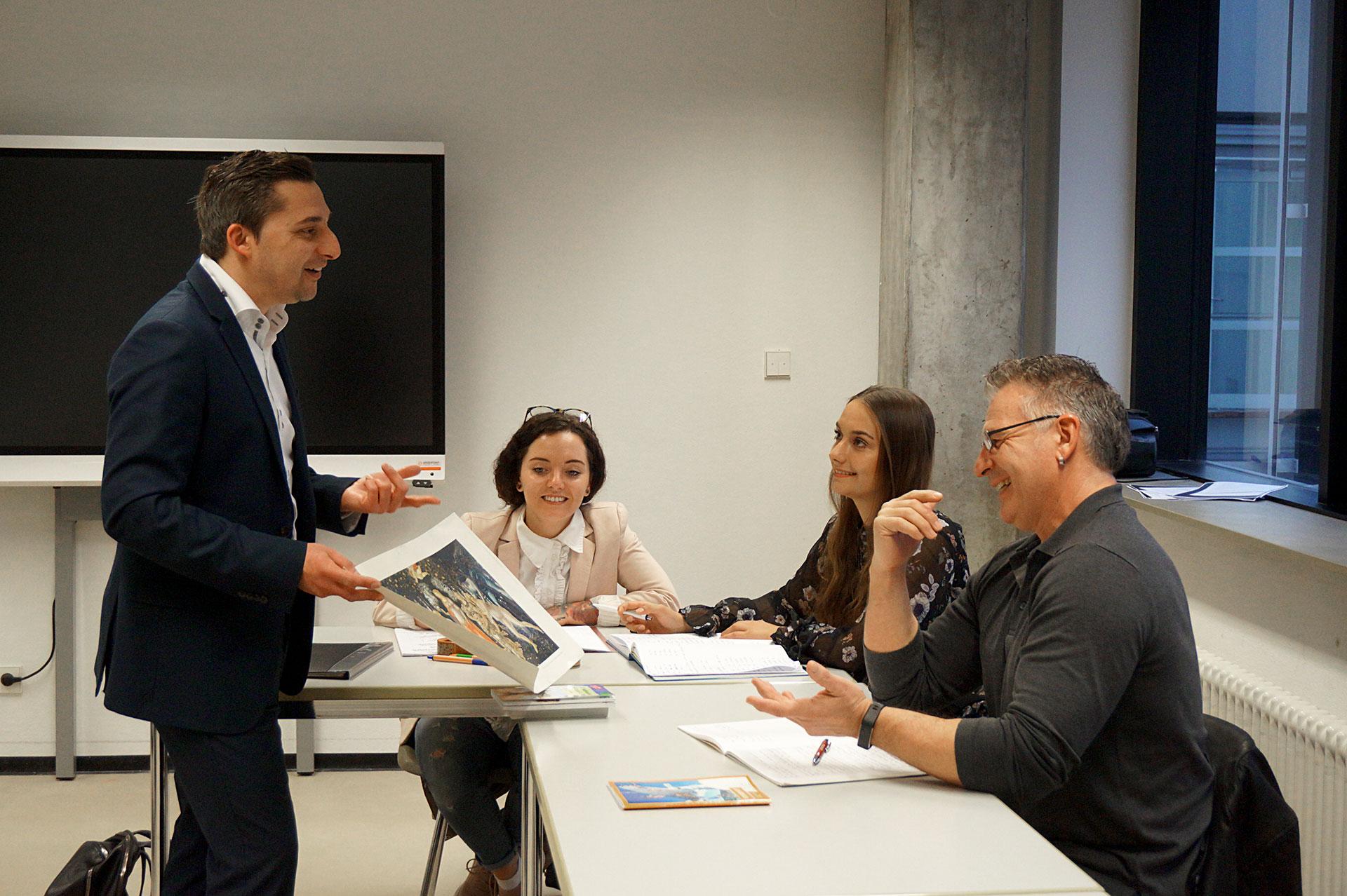 Matteo Ganzarolli, Dozent für Italiensch –Matteo Ganzarolli